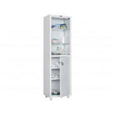 Шкаф металлический одностворчатый медицинский HILFE МД 1 1650/SG купить в Твери