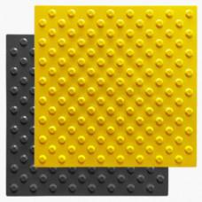 Тактильный указатель (плитка) конус в шахматном порядке ПУ 500