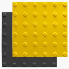 Тактильный указатель (плитка) конус в линейном порядке ПУ